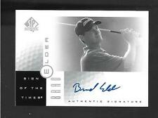 2001 SP Authentic Golf - BRAD ELDER - Sign of the Times Autograph - PGA