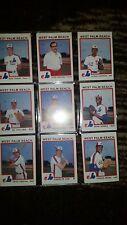 1987 West Palm Beach Expos minor league baseball card set by pro cards