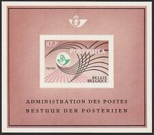Belgium 1967 POSTPHILA Special Proof Sheet FEUILLET DE LUXE Cob LX51.......A4855