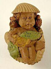 Darcy 1986 Tom Clark Gnome Signed Figurine Retired Fairy Coa 25