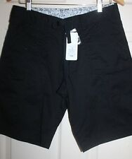 NEW WITH TAGS  ladies Black Casual SHORTS size 10 rrp $35.00  NEW