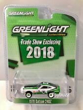 GREENLIGHT 1:64 DATSUN 240Z 1970 TRADE SHOW TOY FAIR EXCLUSIVE 2018 NEW 29926