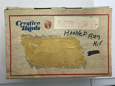 New listing Vintage Monthly Mail Order Latchhook Kit Creative Hands Butterflies 1977 Rare