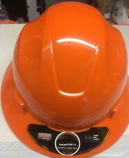 Orange Safety hard hat (cool Air Flow)