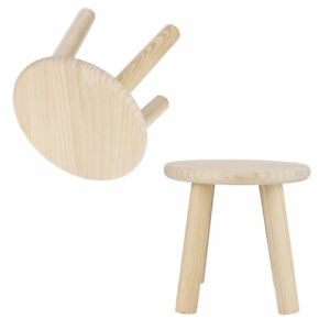 Multi Purpose Household Wood Stools Cute Small Bench Child DIY Furniture HG
