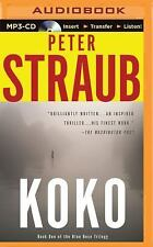 Blue Rose Trilogy: Koko 1 by Peter Straub (2015, MP3 CD, Unabridged)