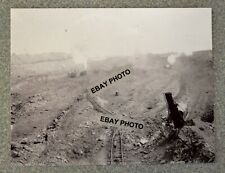 Vintage B&W Photo copy of a Coal Mining Operation