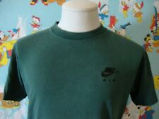 Vintage 90's Nike Air Gray Tag Green T Shirt M