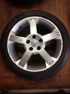 4 Genuine staggered 17 vauxhall vx220 Wheels And Tyres Full Set FRONT + BACK