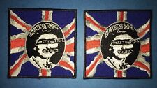 2 Lot Sex Pistols Iron On Hipster Jacket Hoodie Backpack Patches Music Punk Rock