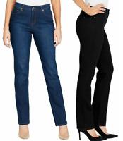 NEW!! Gloria Vanderbilt Women's New Fit Rail Straight Go-To Jeans Variety