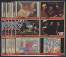 N802. 5x Ajman - MNH - Art - Paintings - Christmas