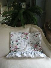 1~WAVERLY BELLE RIVE FLORAL RUFFLED VALANCE #15