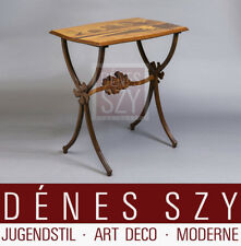 Emile Gallé Nancy Art Nouveau Salon Furniture Side table Ombrelles ca. 1900
