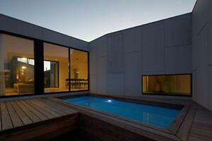 FRANKS POOLS / Fibreglass Swimming Pools / Kit Pools / Diy - Above Gd 4 x 2.5mtr