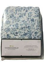 Standard Ironing Board Cover Floral Blue Threshold New in Packaging