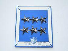 Vietnam Era US Army NS Meyer Lieutenant General Rank Pins Stars on Card LTG