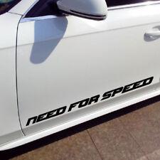 1pc NEED FOT SPEED Car Door Sticker Waterproof Reflective Vinyl Decals 80cm