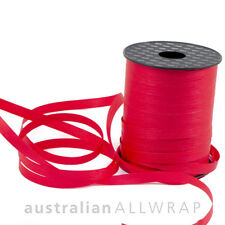 Textured paper Curling Ribbon Red 10mm x 250mm