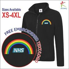 Embroidered NHS UNICORN Rainbow Tribute Respect Doctors Ladies Jacket 4 Colours