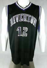 Riverton Silverwolves Basketball Jersey Mens Size L Practice Jersey Made in Usa