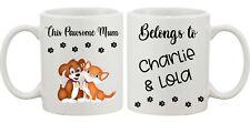 Personalised DOG / CAT Mug with message Ideal GIFT Pawsome Mum Dad Nanna Grandad