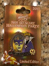 Disney Pins Mickey's Not So Scary Halloween Party 2015 Evil Queen Magic Mirror