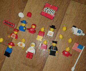 VINTAGE LEGO MINI FIGURES SPACEMAN SHELL 80s 90s RARE RETRO