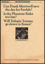 TAILSPIN TOMMY__Original 1966 Trade AD / TV promo / poster__Screen Gems__serial