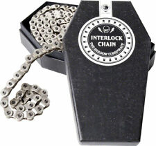 "The Shadow Conspiracy Interlock V2 Cadena Individual SPD 1/2 "" x1/8"" 98 Plata"