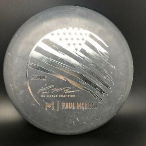 Discraft Paul Mcbeth 5x Grip EQ Black Flag Luna 174g Silver Foil