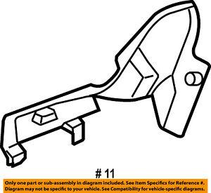 Jeep CHRYSLER OEM Grand Cherokee Seat Track-Inner Cover Trim Left 1BG411D1AA