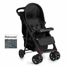 HAUCK CAVIAR / STONE SHOPPER NEO II PUSHCHAIR STROLLER BABY BUGGY WITH RAINCOVER