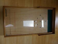 Tischkegelbahn Holz/Glas/Filz  von Gutweniger Meran