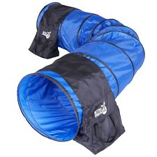 Better Sporting Dogs 10 Ft Dog Agility Tunnel with Sandbags | Dog Agility