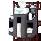 hiccapop Nursery Organizer Baby Diaper Caddy Hanging Organization Storage Crib