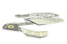 Magura Set with Stickers Menja Race m100