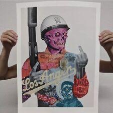 Tristan Eaton LOS ANGER Print RARE Giclee Silk Screen GLOW IN THE DARK