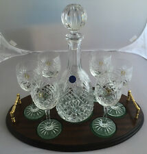 Vino CONNOISSEUR'S vintage wine set di bicchieri e caraffa in VASSOIO