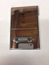 Mazda MX 5 (Miata) LHD ref122 Car on a Stainless Steel Business Card Holder
