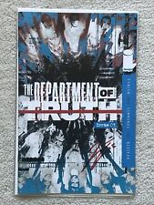 The Department of Truth #3 2nd Print signed James Tynion