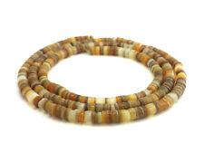 Goldlip Mother of Pearl Shell Heishi Beads (4 - 5 mm / 24 Inches Strand)