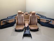 BMW F34 Leather Seats Sport Harman Kardon Lederausstattung Dakota Sattelbraun