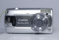 CANON POWERSHOT A470 DIGITAL CAMERA 7.1MP Ai AF 3.4X OPTICAL ZOOM (FAULTY)