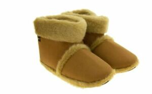 Mens Coolers Faux Suede Pull On Slipper Boots - UK Size 9-10 - Brand New