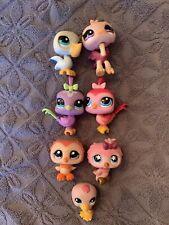 Littlest Pet Shop LPS  *Lot* 9 Birds: Owl, Pelican, Ostrich, Duck *Authentic*