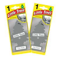 2 X Magic Tree Little Trees Car Air Freshener - City Style