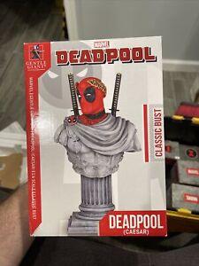 Gentle Giant Studios  Marvel  Bust Deadpool - Caesar (Limited Ed) New 703/4000