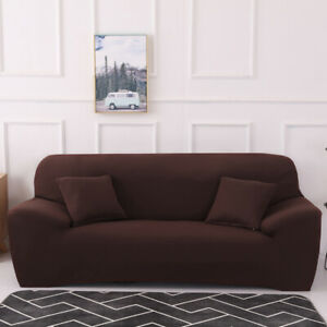 Sofa Cover Geometric Printed Couch Cover Stretch Soft Spandex Couch Slipcover