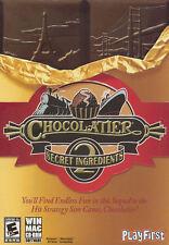 CHOCOLATIER 2 SECRET INGREDIENTS - Strategy Sim PC Game - Windows & MAC - NEW!